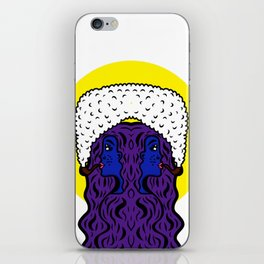 Gemini Goddesses iPhone Skin