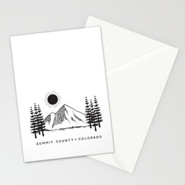 Summit County, Colorado Stationery Cards