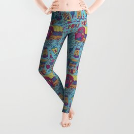 Caravan Pattern Leggings