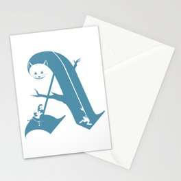 A is for Alice Stationery Cards
