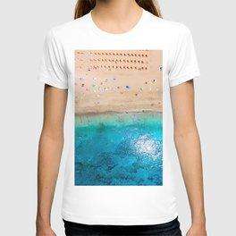 AERIAL. Summer beach T-shirt