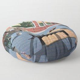 "Hippo Campus - ""Landmark"" Lyrics Floor Pillow"