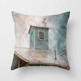 Sunbright Church Throw Pillow