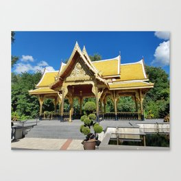 A bit of Thailand in Madison, WI, USA Canvas Print