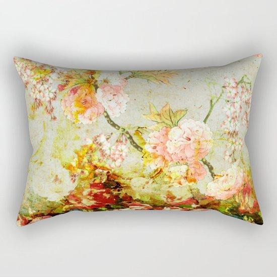 climbing flowers Rectangular Pillow