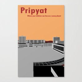 Pripyat City Square #2 Canvas Print