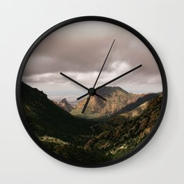 Mountain View in Big Bend National Park Wall Clock