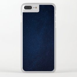 Stargazing Clear iPhone Case