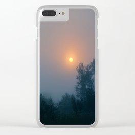 Beautiful Problem Clear iPhone Case