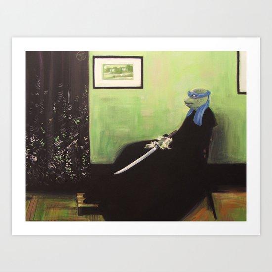 Whistler's Turtle Art Print