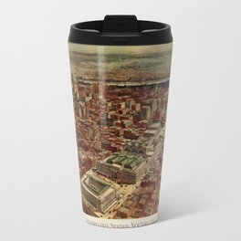 Pennsylvania Station 1910 Travel Mug