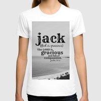 jack white T-shirts featuring Jack by KimberosePhotography