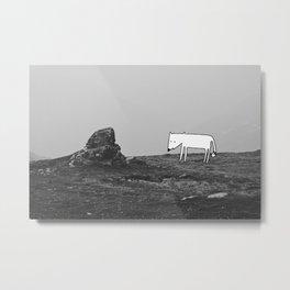 Rocky Solitude Metal Print