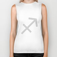 sagittarius Biker Tanks featuring Sagittarius by David Zydd - Colorful Mandalas & Abstrac