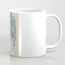Embroidering With My Pencil  Coffee Mug