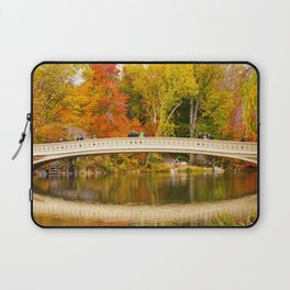 Bow Bridge at Central Park Laptop Sleeve