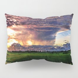 Explosive Sky Pillow Sham