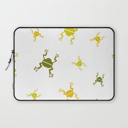 jumping frogs Laptop Sleeve