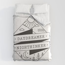 daydreamer nighthinker II Comforters