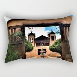 El Santuario de Chimayó Rectangular Pillow