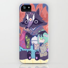 Tanukikitsune iPhone Case