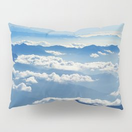 Mountains and Clouds in Nepal Pillow Sham