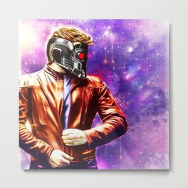 Guardians of the Galaxy - Starlord Metal Print