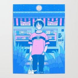 Tokyo BF w/ Nostalgic Anime Hero Poster