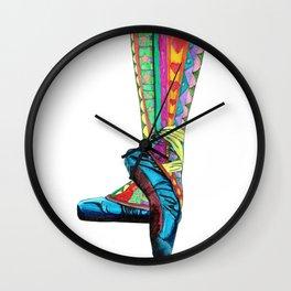 Happy Ballet II Wall Clock