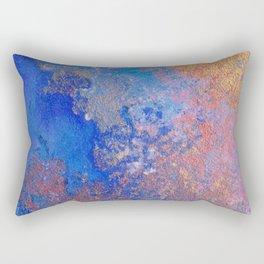 Frolicking in ultramarine abstract Rectangular Pillow