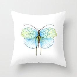 Leaf bug Throw Pillow