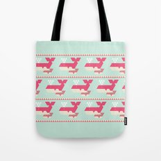 Triangwhales Tote Bag