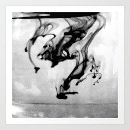 Like Black Magic Art Print