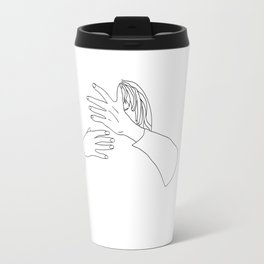 when you want to kiss, but not with anyone Travel Mug