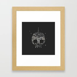 Death Disco Framed Art Print