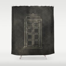 Doctor Who: Tardis Shower Curtain