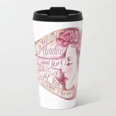 She Walks in Beauty Travel Mug