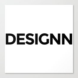 Designn Promo Canvas Print