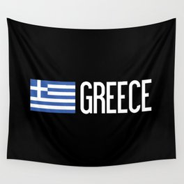 Greece: Greek Flag & Greece Wall Tapestry