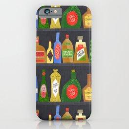 Bar Cart Art iPhone Case