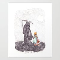 Transvectio Art Print