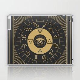 La Roue de Fortune or Wheel of Fortune Tarot Laptop & iPad Skin