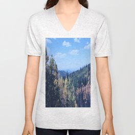 Northern Arizona - San Francisco Peaks - Wild Veda Unisex V-Neck