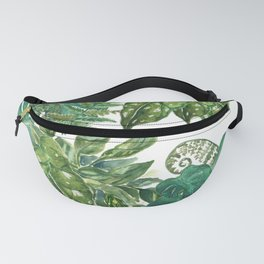 A Pattern of Plants Fanny Pack