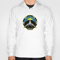 starfox Hoodies featuring The Lylat Space Academy by John Medbury (LAZY J Studios)