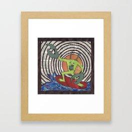 Dream Waves Framed Art Print