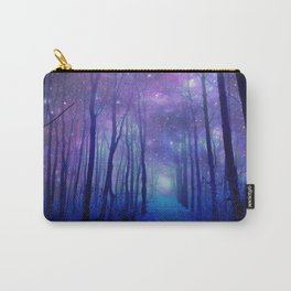 Fantasy Path Purple Blue Carry-All Pouch