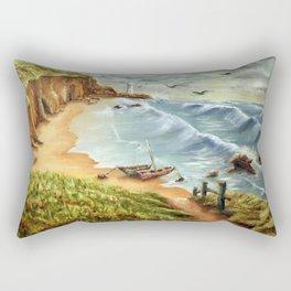 Strumble Head, Pembrokeshire Rectangular Pillow