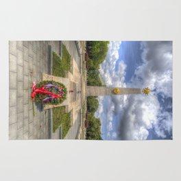 Russian War Memorial Budapest Rug