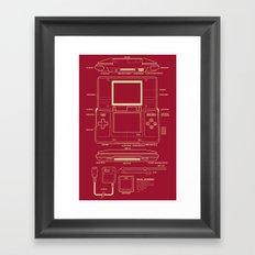 DS  Framed Art Print